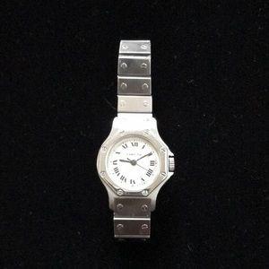 Cartier Santos Octagon watch